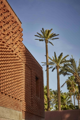 BRICK AND PALM