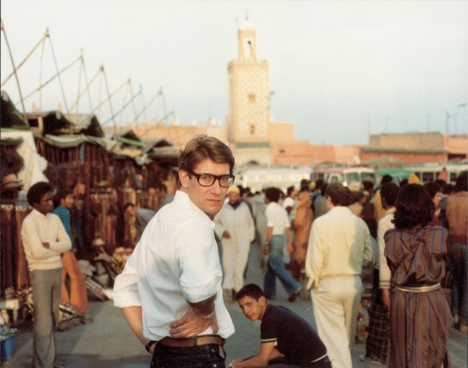 YSL IN MARRAKESH