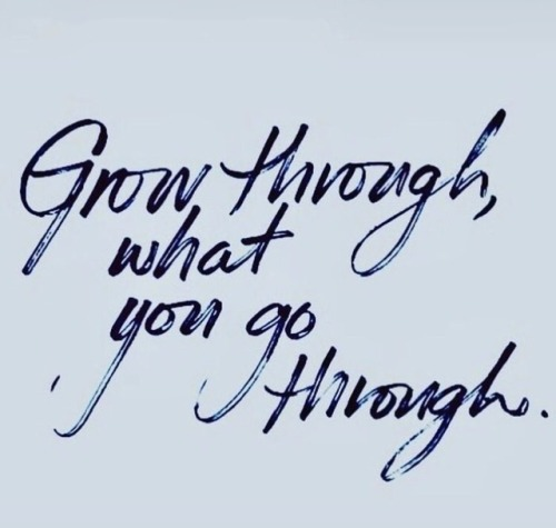 go through